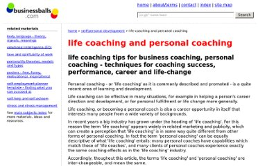http://www.businessballs.com/lifecoaching.htm