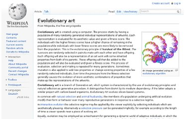 http://en.wikipedia.org/wiki/Evolutionary_art