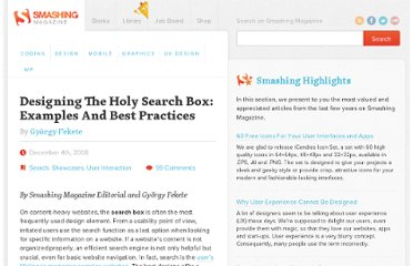 http://www.smashingmagazine.com/2008/12/04/designing-the-holy-search-box-examples-and-best-practices/