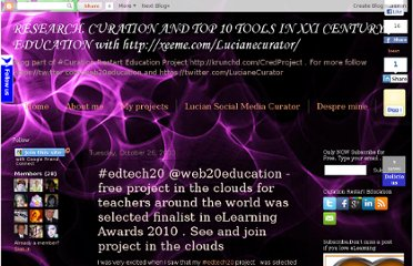 http://teacherluciandumaweb20.blogspot.com/2010/10/edtech20-web20education-free-project-in.html