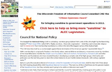 http://www.sourcewatch.org/index.php?title=Council_for_National_Policy