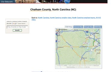 http://www.city-data.com/county/Chatham_County-NC.html