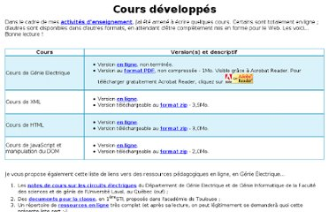 http://www.gchagnon.fr/cours/index.html