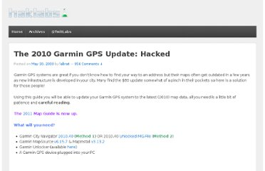 http://www.haklabs.com/2009/the-2010-garmin-gps-update-hacked/