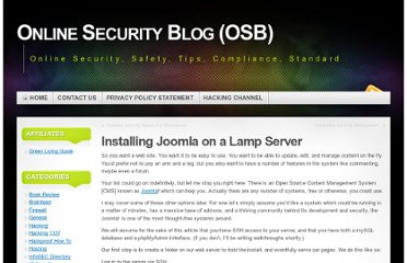 http://onlinesecurityblog.info/installing-joomla-on-a-lamp-server/