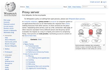 http://en.wikipedia.org/wiki/Proxy_server
