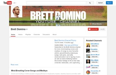 http://www.youtube.com/user/brettdomino