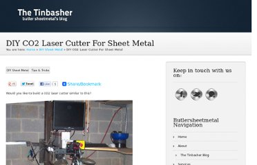 http://www.butlersheetmetal.com/tinbasherblog/diy-co2-laser-cutter-for-sheet-metal_645.html