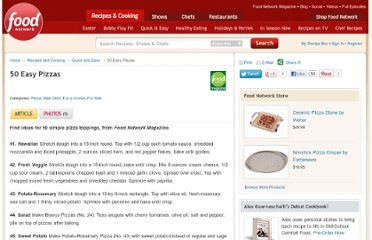 http://www.foodnetwork.com/recipes-and-cooking/50-easy-pizzas/page-5.html