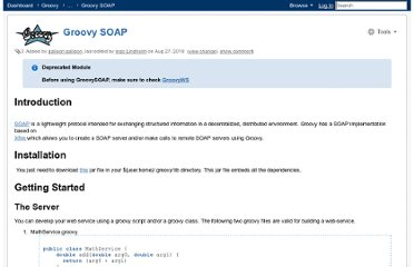 http://docs.codehaus.org/display/GROOVY/Groovy+SOAP