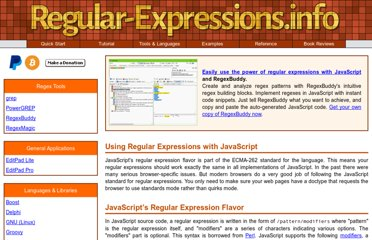 http://www.regular-expressions.info/javascript.html