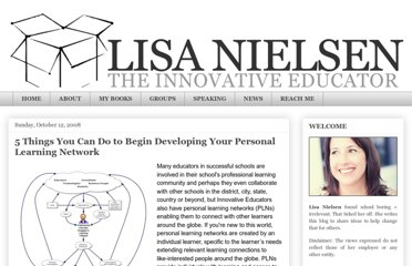 http://theinnovativeeducator.blogspot.com/2008/04/5-things-you-can-do-to-begin-developing.html
