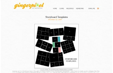 http://www.gingerpixel.com/review/storyboard-templates/