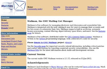 http://www.gnu.org/software/mailman/index.html