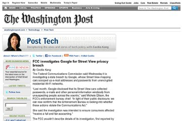 http://voices.washingtonpost.com/posttech/2010/11/fcc_investigates_google_for_st.html