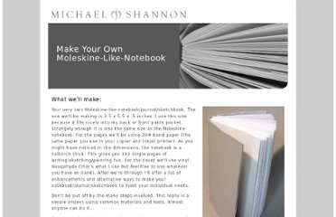 http://michaelshannon.us/makeabook/