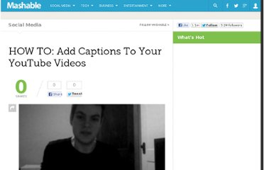 http://mashable.com/2010/01/16/youtube-captions-how-to/