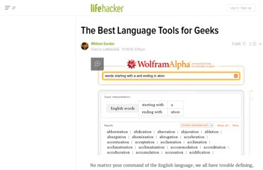 http://lifehacker.com/5686521/the-best-language-tools-for-geeks