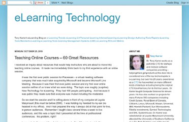 http://elearningtech.blogspot.com/2010/10/teaching-online-courses-60-great.html