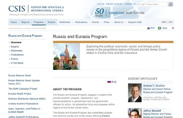 http://csis.org/program/russia-and-eurasia-program