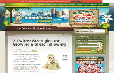 http://www.socialmediaexaminer.com/7-twitter-strategies-for-reaching-critical-mass/