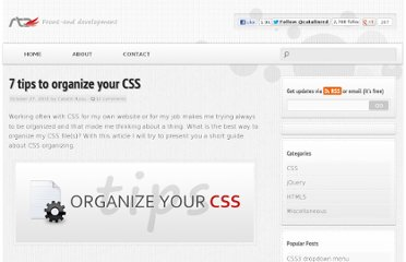 http://www.red-team-design.com/tips-to-organize-your-css