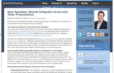 http://www.web-strategist.com/blog/2009/10/09/how-speakers-should-integrate-social-into-presentations/