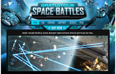 http://www.positech.co.uk/gratuitousspacebattles/index.html