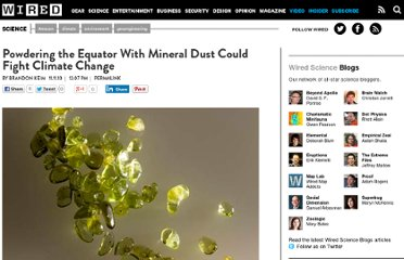 http://www.wired.com/wiredscience/2010/11/olivine-geoengineering/