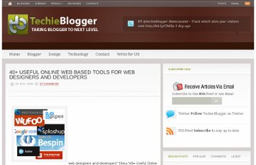 http://www.techieblogger.com/2009/11/useful-online-web-based-applications-tools-for-web-designers-and-developers.html