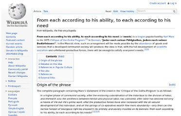 http://en.wikipedia.org/wiki/From_each_according_to_his_ability,_to_each_according_to_his_need