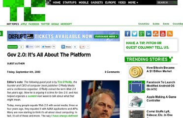 http://techcrunch.com/2009/09/04/gov-20-its-all-about-the-platform/