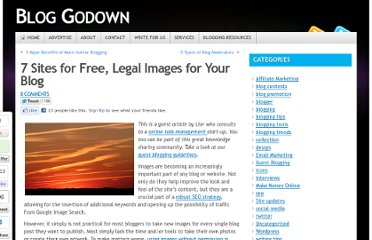 http://www.bloggodown.com/2010/11/7-sites-for-free-legal-images-for-your-blog.html
