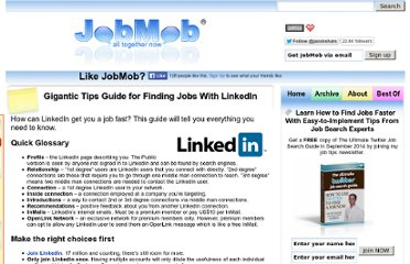 http://jobmob.co.il/blog/gigantic-linkedin-job-search-tips/