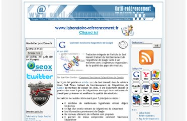 http://www.outil-referencement.com/blog/index.php/386-algorithme-google