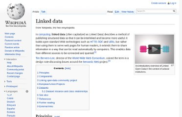 http://en.wikipedia.org/wiki/Linked_data