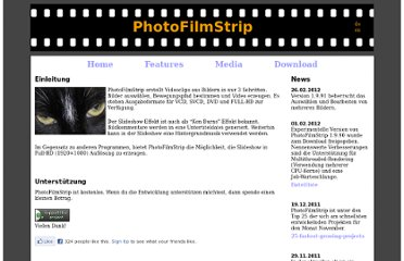 http://www.photofilmstrip.org/1-0-Home.html
