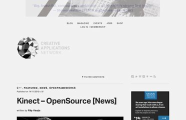 http://www.creativeapplications.net/news/kinect-opensource-news/