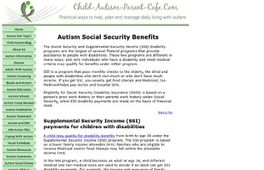 http://www.child-autism-parent-cafe.com/social-security.html