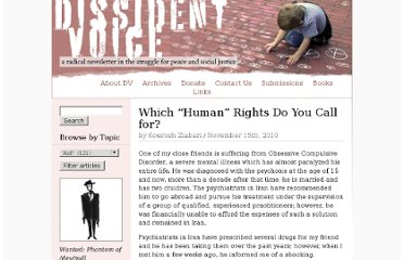 http://dissidentvoice.org/2010/11/which-human-rights-do-you-call-for/