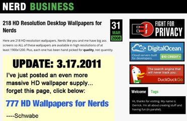 http://nerdbusiness.com/blog/218-hd-resolution-desktop-wallpapers-nerds