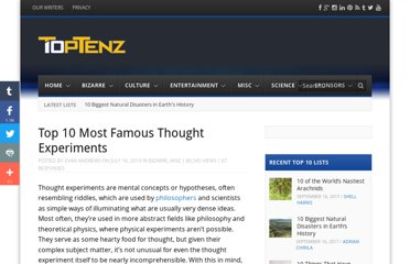 http://www.toptenz.net/top-10-most-famous-thought-experiments.php