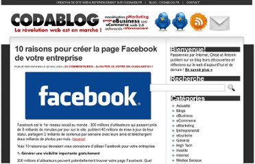 http://www.codablog.fr/10-raisons-creer-page-facebook-entreprise/