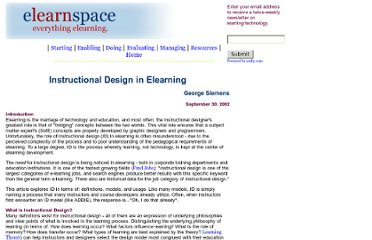 http://www.elearnspace.org/Articles/InstructionalDesign.htm