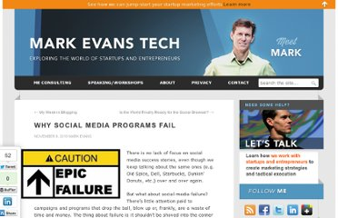 http://www.markevanstech.com/2010/11/08/why-social-media-programs-fail/
