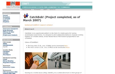 http://craftwww.epfl.ch/research/catchbob/