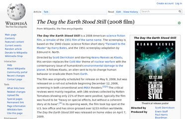 http://en.wikipedia.org/wiki/The_Day_the_Earth_Stood_Still_(2008_film)