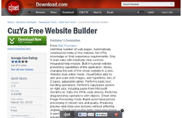 http://download.cnet.com/CuzYa-Free-Website-Builder/3000-10247_4-75157227.html