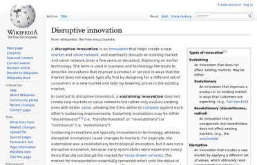 http://en.wikipedia.org/wiki/Disruptive_innovation