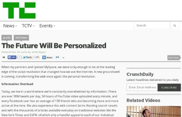 http://techcrunch.com/2010/11/16/the-future-will-be-personalized/